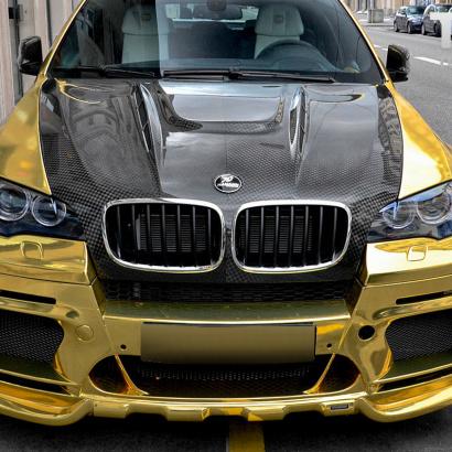 Передний бампер - Обвес на BMW X6 E71