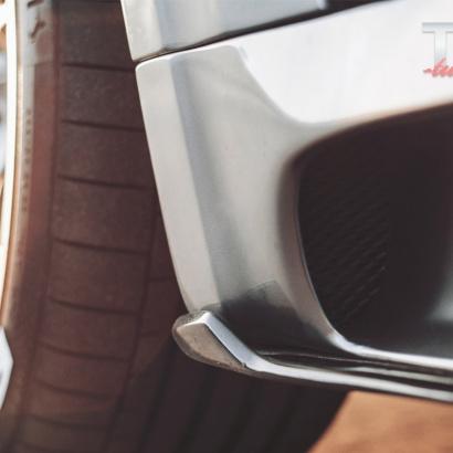 Элероны под пороги - обвес TCR-II для BMW X5 F15 / X5M F85