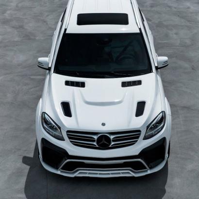 Капот с жабрами - обвес PRIME 63 на Mercedes GLE W166