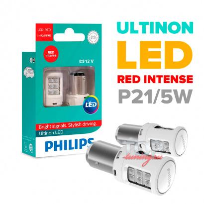 Светодиодные лампы Philips в заднюю оптику 2 в 1 - цоколь P21/5W
