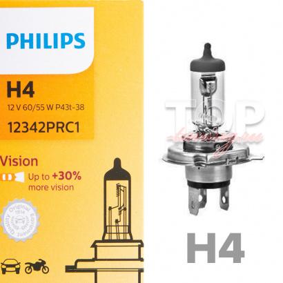 Лампа автомобильная Philips H4