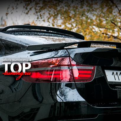 Спойлер багажника - Обвес на BMW X6 E71