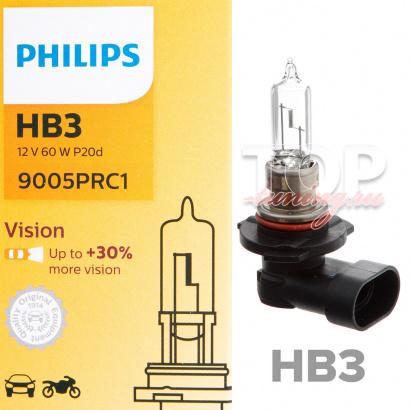Лампа автомобильная Philips HB3