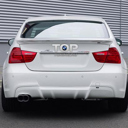 Cпойлер крышки багажника на BMW 3 E90