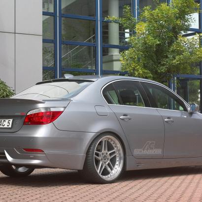 Обвес - накладка заднего бампера на BMW 5 E60, E61, M5