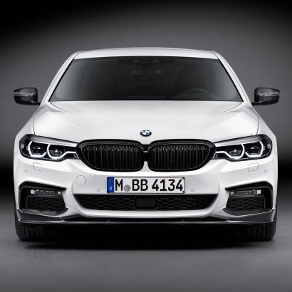 Карбоновый сплиттер M Performance для BMW G30