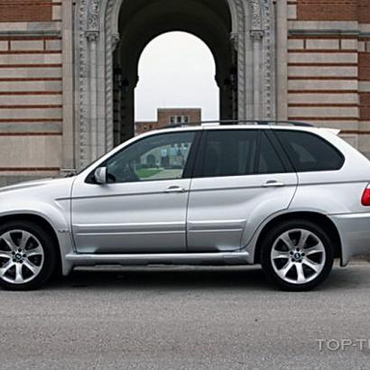 Накладки на двери (к-т) - Обвес на BMW X5 E53