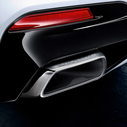 Насадки M Performance для BMW 530i iX 540i iX