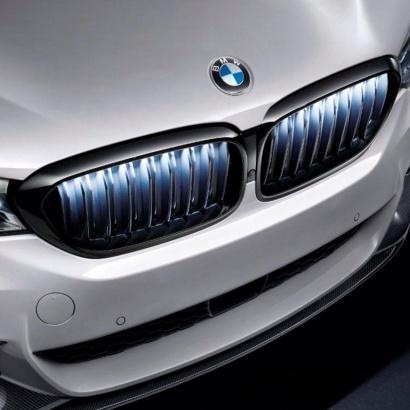 Решетки радиатора M Performance Iconic Glow для BMW G30 / G31