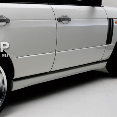 Накладки на пороги - обвес на Land Rover Range Rover Vogue 3