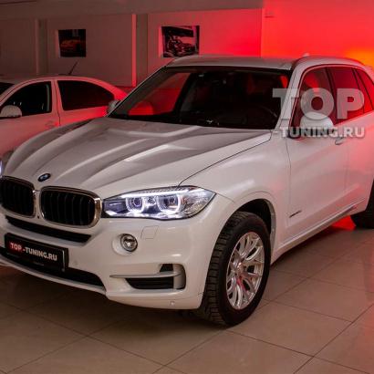 Внешний тюнинг и защита оптики на BMW X5 F15