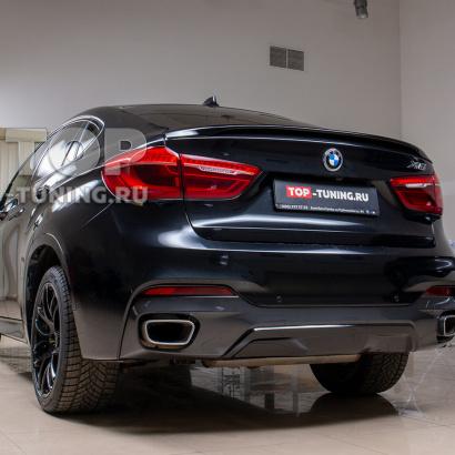 Установка спойлера Performance на BMW X6 F16