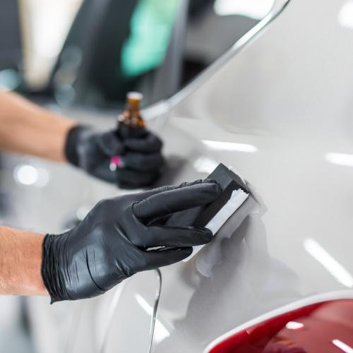 Покрытие кузова авто жидким стеклом