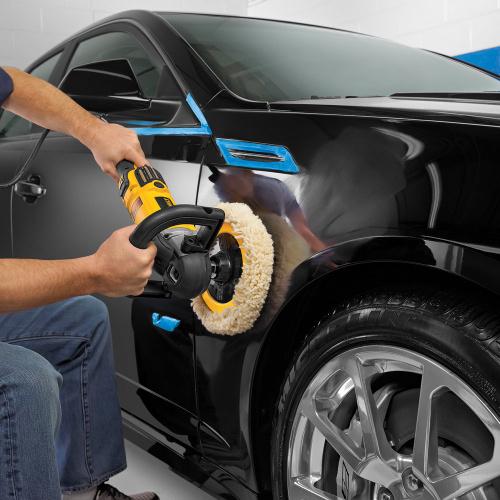 Полировка автомобиля после покраски
