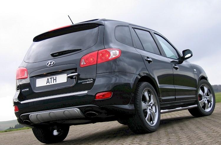 Обвес на Hyundai Santa Fe 2006?2012