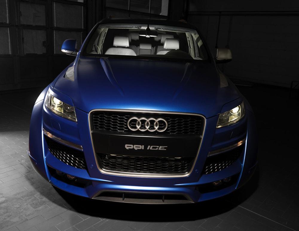 1201 Аэродинамический обвес PP1 ICE на Audi Q7