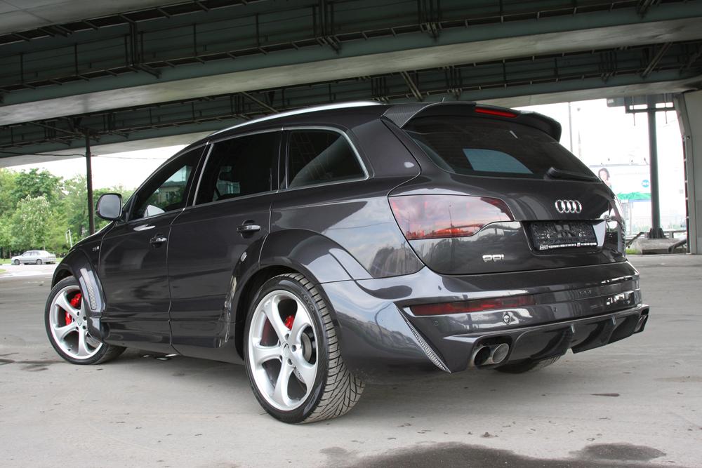 Расширители арок PP1 ICE Тюнинг Audi Q7