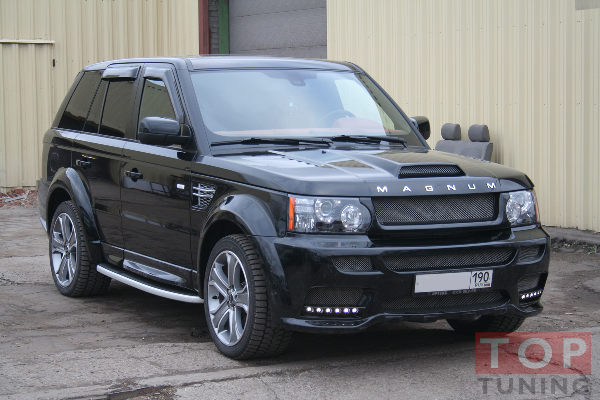 magnum land rover range rover sport l322. Black Bedroom Furniture Sets. Home Design Ideas