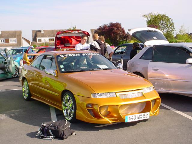 697 Передний бампер - Обвес NTC на Opel Calibra A