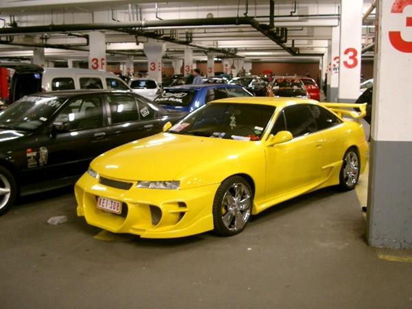 Тюнинг на Opel Calibra