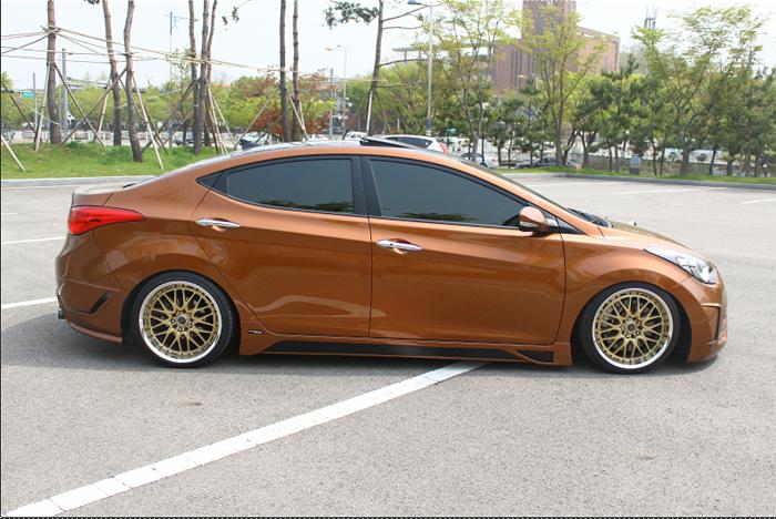 Тюнинг Hyundai Elantra MD