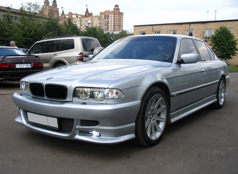 тюнинг на BMW 7 e38