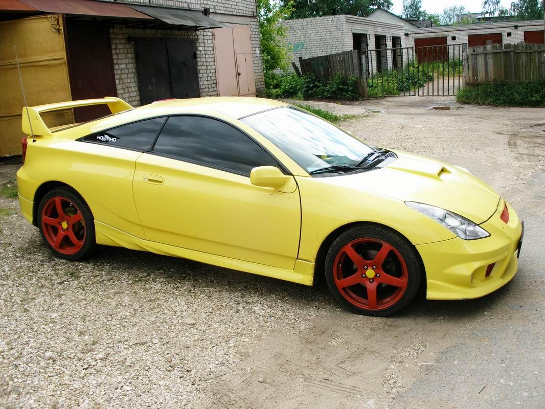 Celica Trd >> Передний бампер - Обвес TRD на Toyota Celica T23