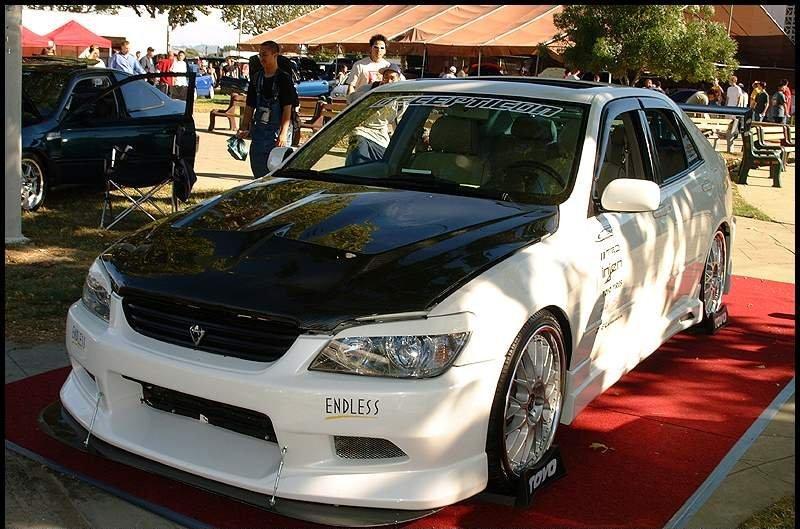 586 Передний бампер - Обвес C-West на Toyota Altezza is200