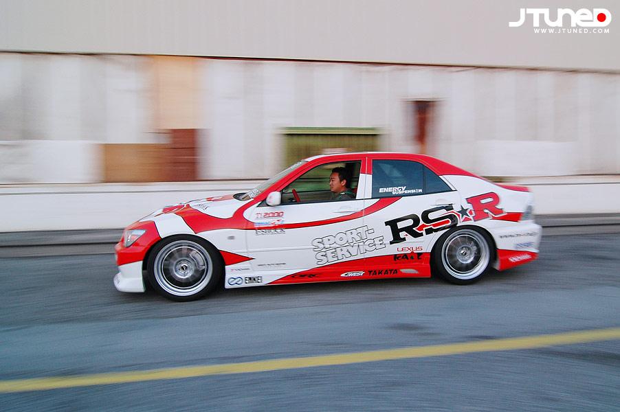 585 Задний бампер - Обвес C-West на Toyota Altezza is200