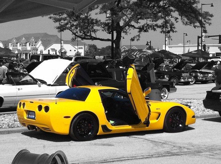 Ламбо двери на Chevrolet Corvette 1997?2004