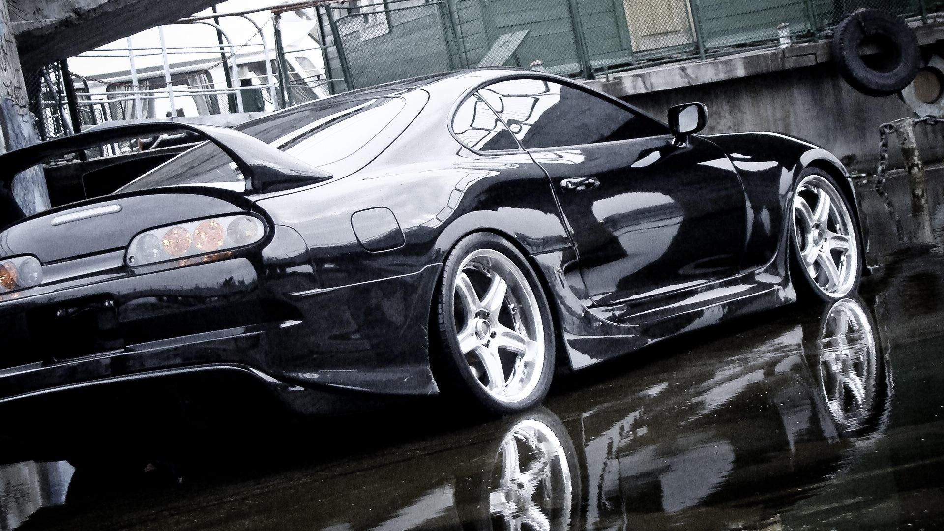 Тюнинг Тойота Супра - Обвес TRIAL - Задний бампер.