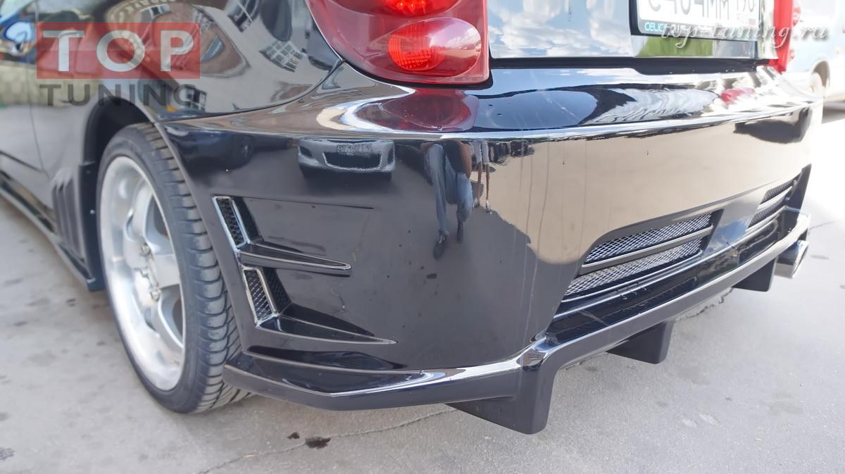 Задний бампер - Weber Sport на Toyota Celica.