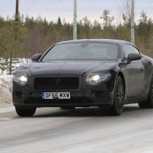 2019 Bentley Continental GT - последние шпионские снимки