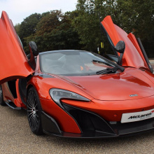 MSO Volcano Orange McLaren 675LT Spider продается за 423,950 фунтов