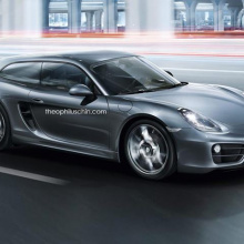Почему бы Porsche не построить Cayman Shooting Brake?