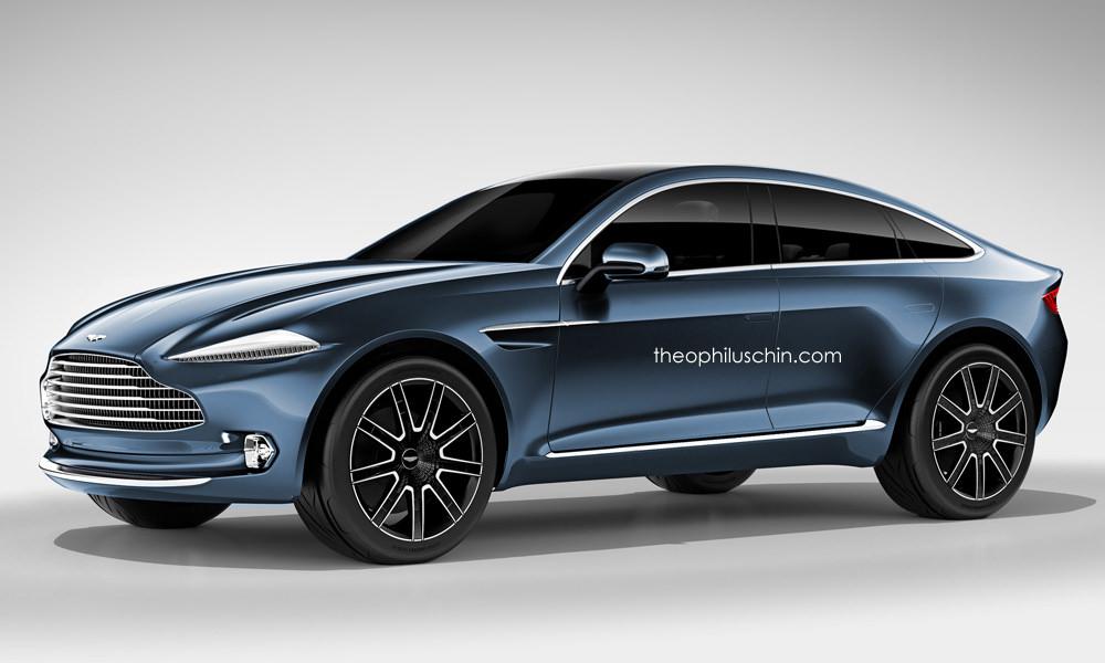 Aston Martin DBX с пятью дверями