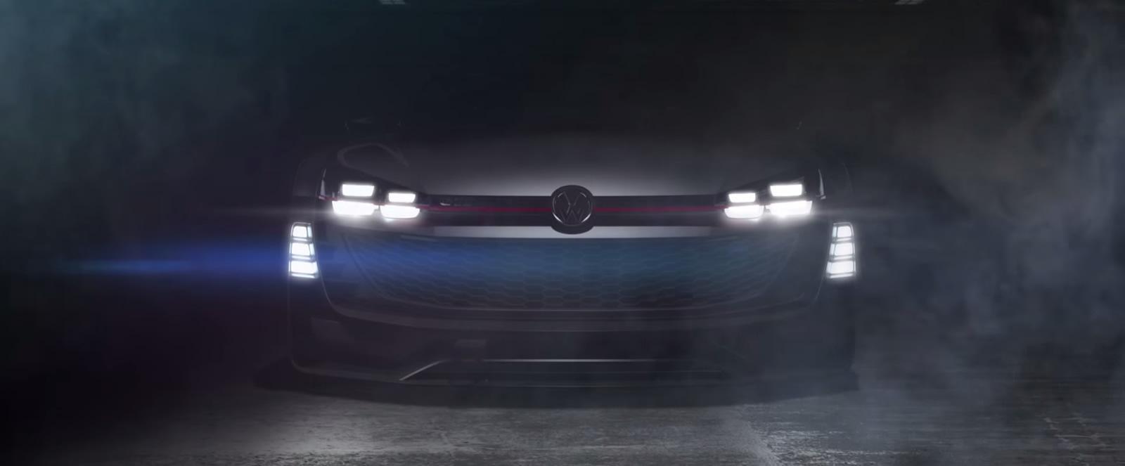 VW выпустил тизер GTI Supersport Vision Gran Turismo