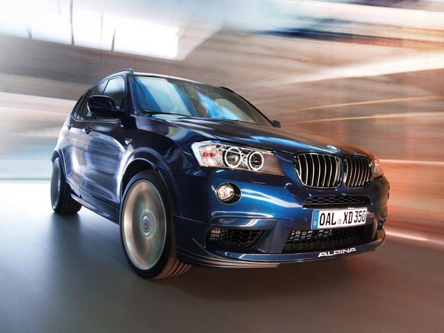Женевский Автосалон-2013: Alpina BMW XD3 Bi-Turbo