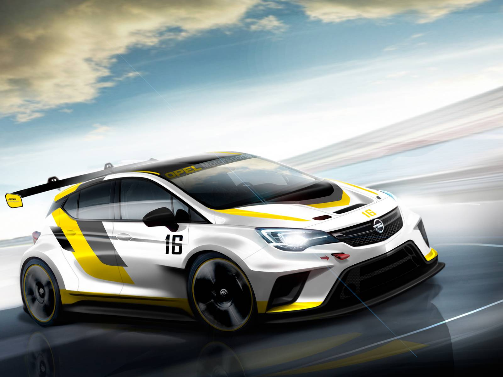 Opel представил 2016 Astra TCR