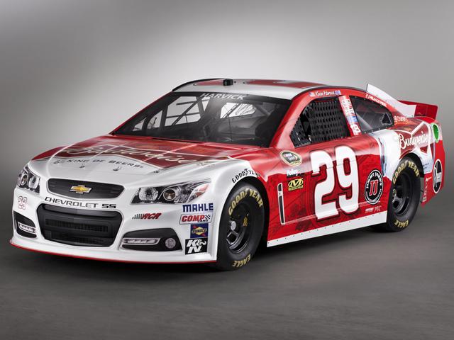 Chevy SS представил модификацию для NASCAR