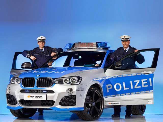 Так будет выглядеть служебный BMW X4, если полиция закупит машины у AC Schnitzer