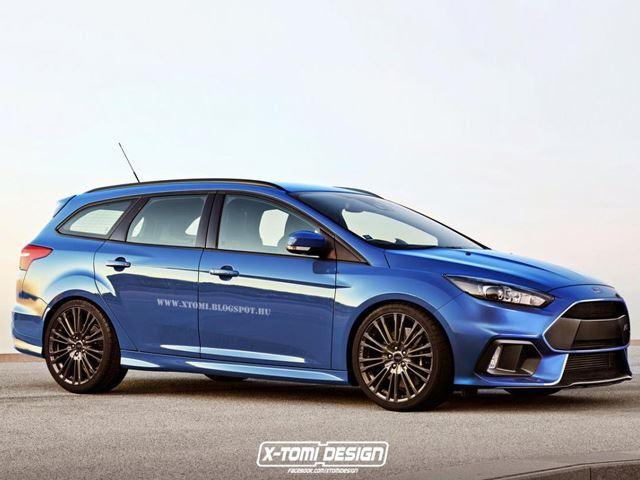 Ford Focus RS Wagon - 320-сильная фантазия