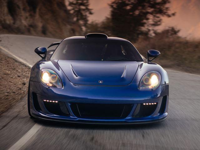 Mirage Porsche GT от Gemballa на дисках HRE