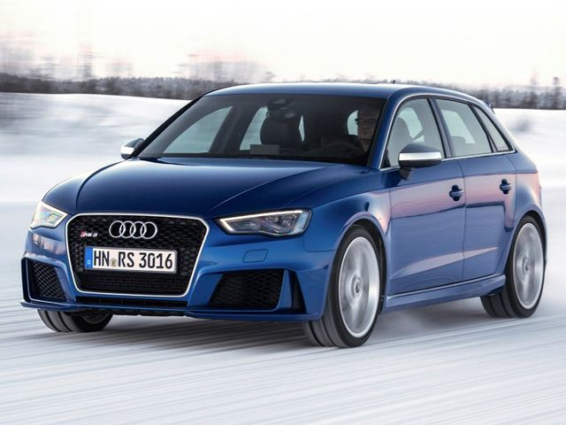 Видео тизер Audi RS3 в холодной и снежной Финляндии