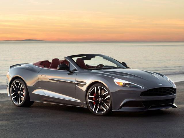 Aston Martin выпустил фото Vanquish Volante