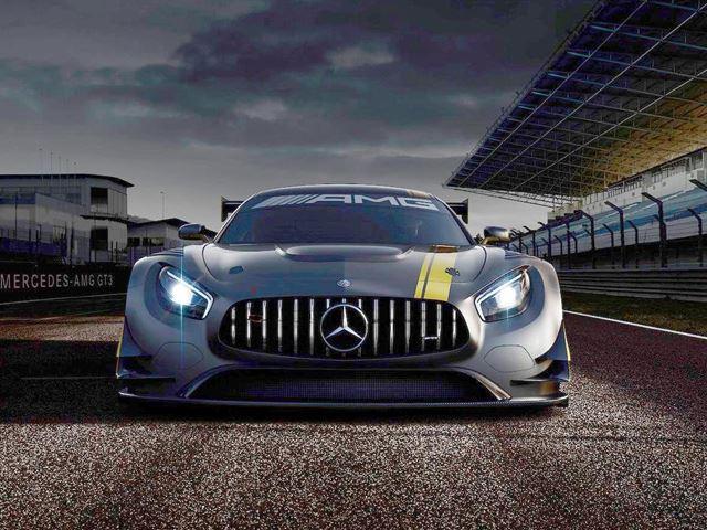 Mercedes выпустил тизер изображение AMG GT3