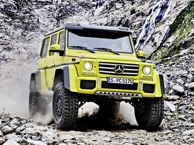Mercedes-Benz G 500 4x4 Squared - 6х6 минус один мост