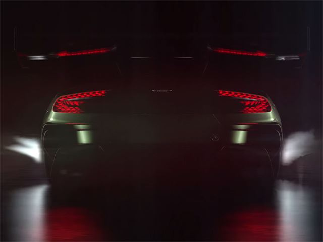 Aston Martin выпустил еще один тизер Vulcan