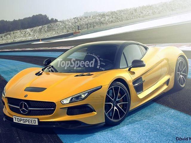 Будет ли будущий гиперкар Mercedes AMG выглядеть так?