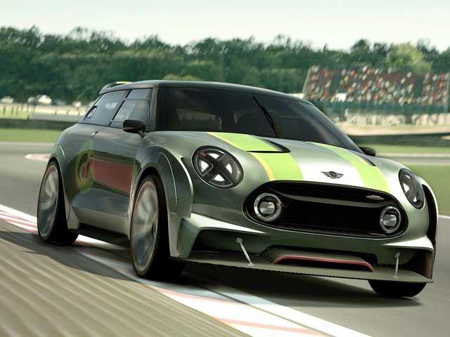 MINI показал гоночный концепт New Vision GT